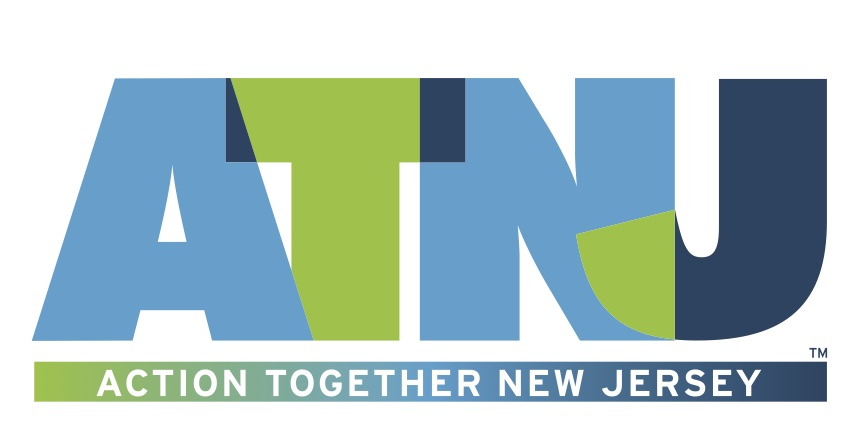 Action Together New Jersey logo showing that they have joined with more than 50 organizations in support of action on climate change