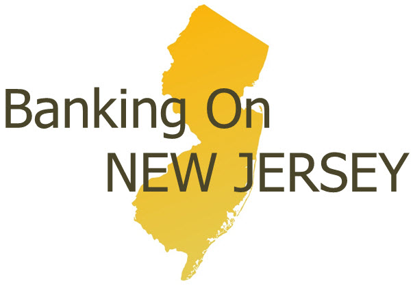 Banking on New Jersey logo showing that they have joined with more than 50 organizations in support of action on climate change