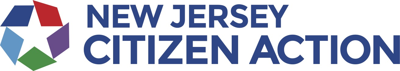 New Jersey Citizen Action logo showing that they have joined with more than 50 organizations in support of action on climate change