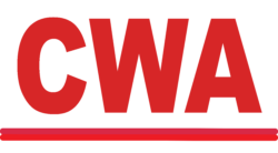 CWA logo showing that they have joined with more than 50 organizations in support of action on climate change