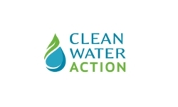 Clean Water Action logo showing that they have joined with more than 50 organizations in support of action on climate change