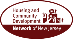 Housing and Community Development Network of New Jersey logo showing that they have joined with more than 50 organizations in support of action on climate change