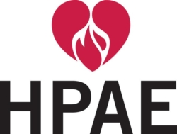 HPAE logo showing that they have joined with more than 50 organizations in support of action on climate change