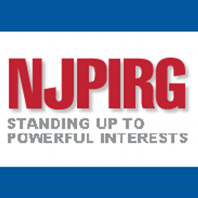 NJPIRG logo showing that they have joined with more than 50 organizations in support of action on climate change
