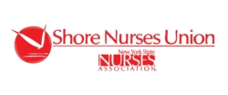 Shore Nurse's Union logo showing that they have joined with more than 50 organizations in support of action on climate change