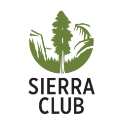 Sierra Club logo showing that they have joined with more than 50 organizations in support of action on climate change