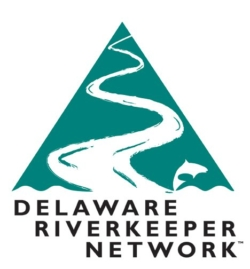 Delaware Riverkeeper Network logo showing that they have joined with more than 50 organizations in support of action on climate change