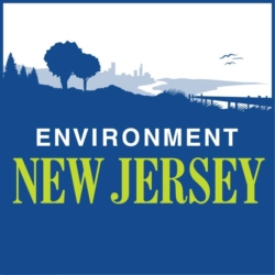 Environment New Jersey logo showing that they have joined with more than 50 organizations in support of action on climate change