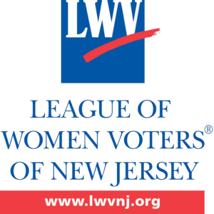 League of Women Voters of New Jersey logo showing that they have joined with more than 50 organizations in support of action on climate change