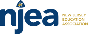 New Jersey Education Association logo logo showing that they have joined with more than 50 organizations in support of action on climate change