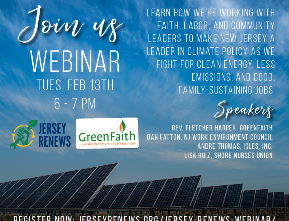 Jersey Renews Webinar | Tues, Feb 13