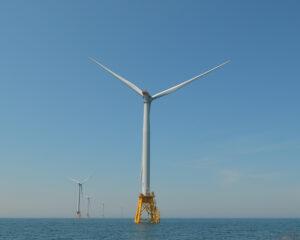 wind turbine from Block Island: Photo Credit Luke Gordon